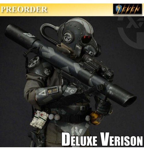 PREORDER: Green Wolf Gear 1/6 Hanroku Trooper - Salt Black Edition (Deluxe Version)