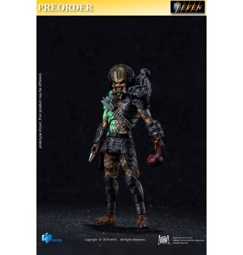 PREORDER: Hiya Toys 1/18 Predators - Battle Damage Jungle Hunter: Boxset