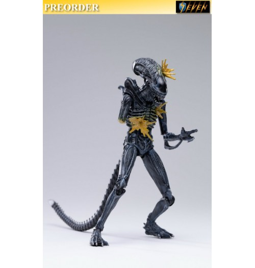 PREORDER: Hiya Toys 1/18 LA0070 Exquisite Mini Series: Alien Warrior: Boxset