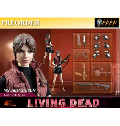 PREORDER: Hot Heart 1/6 Living Dead - Ms Red: Boxset