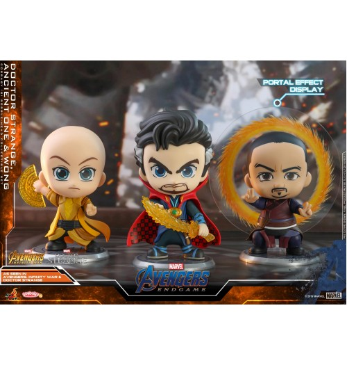 Hot Toys Cosbaby 575 DoctorStrange,AncientOne,Wong