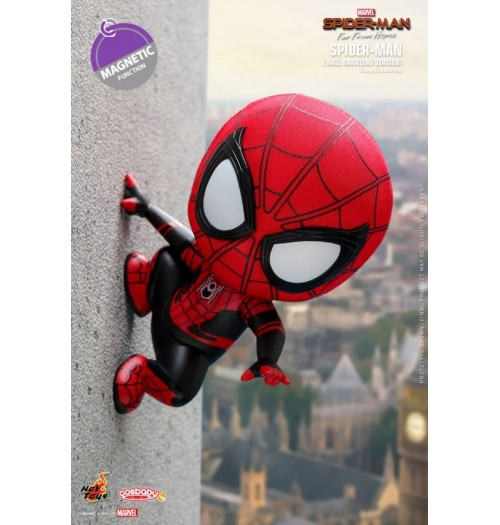 Hot Toys Cosbaby 630 Spider-Man (Wall Crawling)