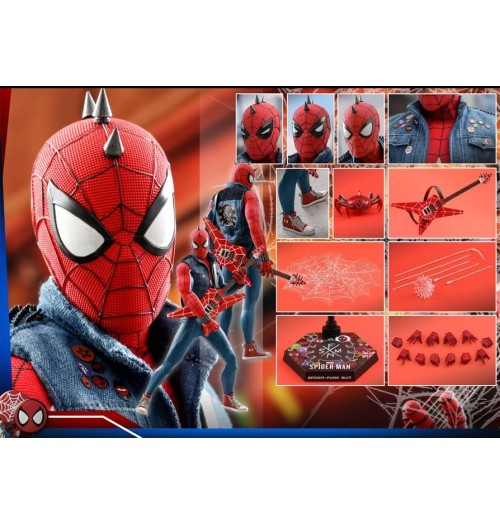 Hot Toys: 1/6 Marvel's Spider-Man (Spider-Punk Suit)