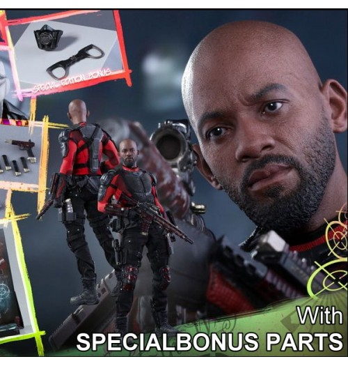 Hot Toys 1/6 Suicide Squad - Deadshot Box Set (Special Edition)