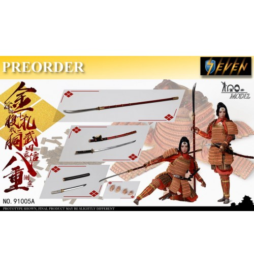 PREORDER: IQO Model 1/6 Takeda Shingen side room Badong(Standard): Boxset