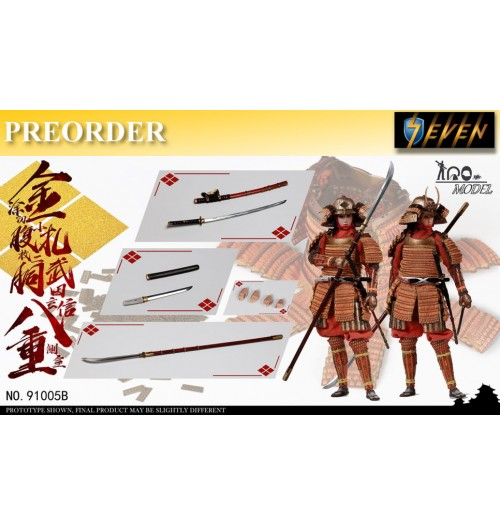 PREORDER: IQO Model 1/6 Takeda Shingen side room Badong(Additional Edition): Boxset