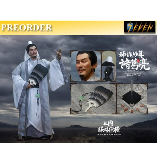 PREORDER: Inflames Toys 1/6 Soul Of Three Kingdoms Stratagems Zhuge Liang: Youth Ver Box Set
