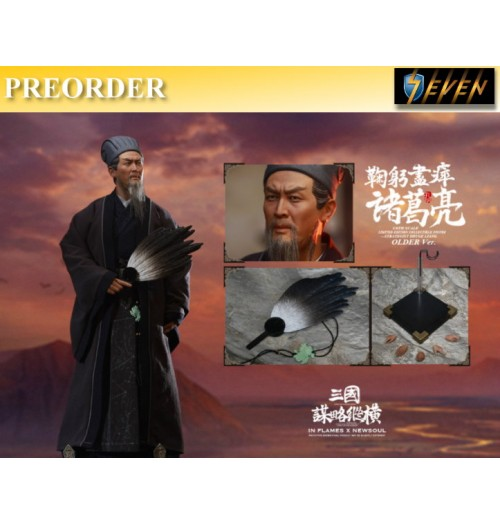 PREORDER: Inflames Toys 1/6 Soul Of Three Kingdoms Stratagems Zhuge Liang: Older Ver Box Set