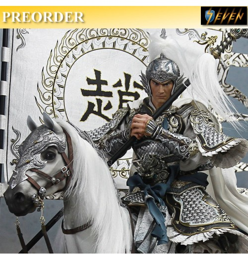 PREORDER: Inflames X Newsoul Toys 1/6 Soul Of Tiger Generals - Zhao Zilong & The Zhaoye Horse Set
