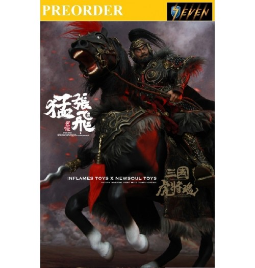 PREORDER: Inflames x Newsoul Toys - Zhang Yide + Wuzhui Horse SET (Upgrade Version)