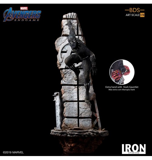 Iron Studios: 1/10 Endgame Black Panther