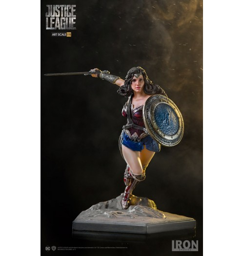 Iron Studios 1/10 Art Scale Justice League - Wonder Woman Statue