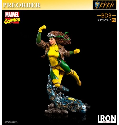 PREORDER: Iron Studios 1/10 Marvel Comics X-Men Rogue Statue: Boxset