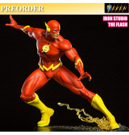 PREORDER: Iron Studio Art Scale 1/10 The Flash Statue