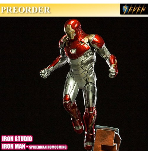 PREORDER: Iron Studio BDS Art Scale 1/10 Spiderman Homecoming - Iron Man Mark XLVII Statue