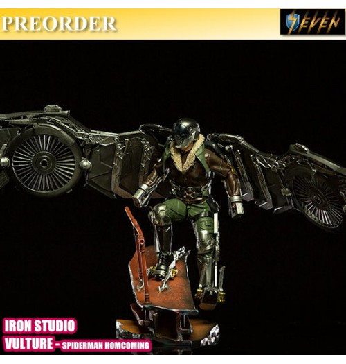 PREORDER: Iron Studio BDS Art Scale 1/10 Spiderman Homecoming - Vulture Statue