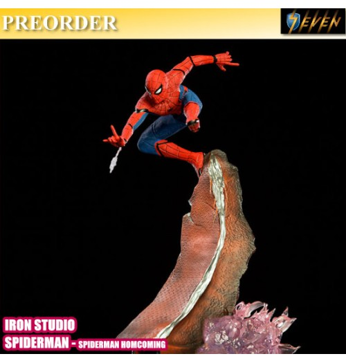 PREORDER: Iron Studio BDS Art Scale 1/10 Spiderman Homecoming - Spiderman Statue