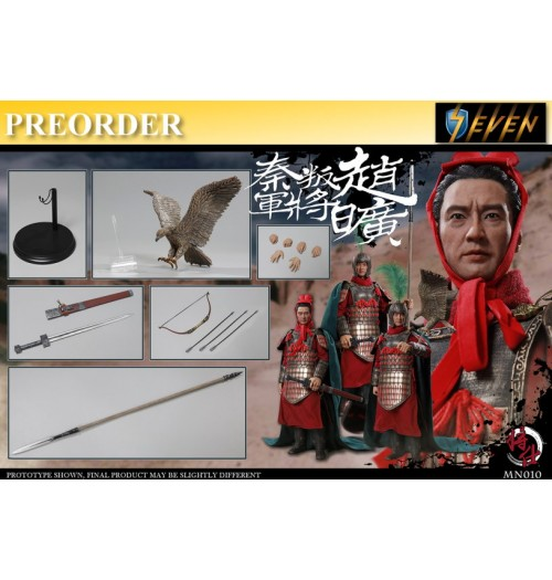 PREORDER: JSModel 1/6 MN010 Warring States series Qin army defecting - Zhao Kuang: Boxset