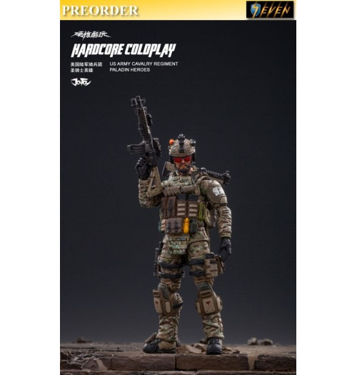 PREORDER: Joy Toy 1/18 Hardcore Coldplay Cavalry Regiment Paladin Heroes: Boxset
