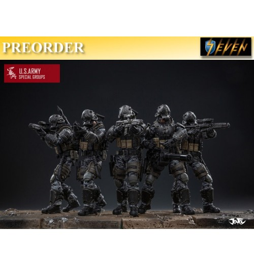 PREORDER: Joy Toy 1/18 US Army Special Group: Boxset