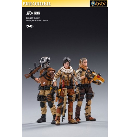 PREORDER: Joy Toy 1/18 45st LEGION Wasteland hunter: Set