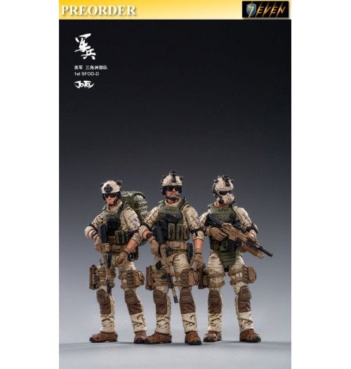 PREORDER: Joy Toy 1/18 U.S.Army Delta Force: Set