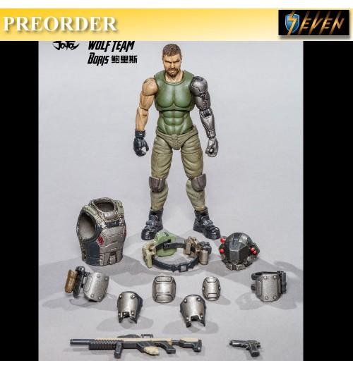 PREORDER: Joy Toy 1/18 Russian Reengineeroing Soldier - Boris