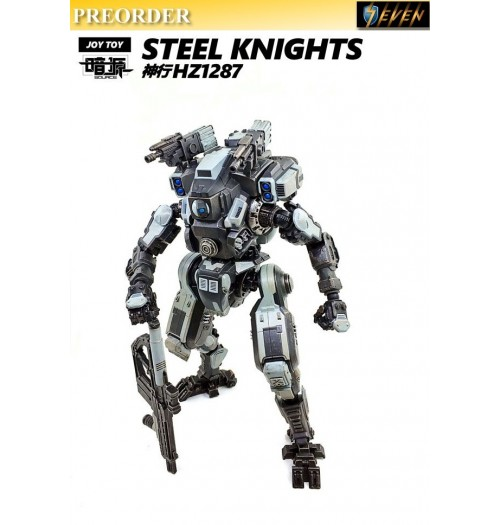 PREORDER: Joy Toy: 1/24 28cm Steel Knight (White)