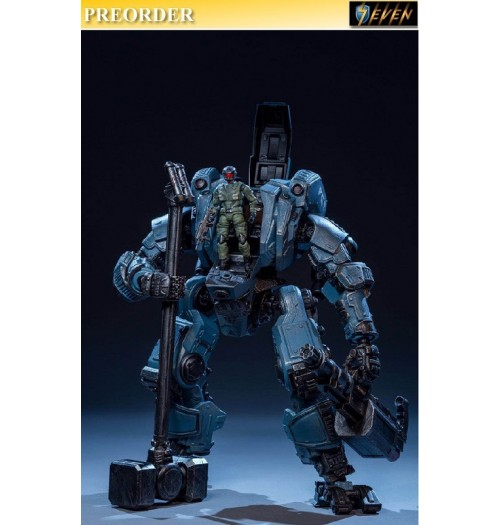 PREORDER: Joy Toy: 1/24 28cm Steel Knight (Blue)