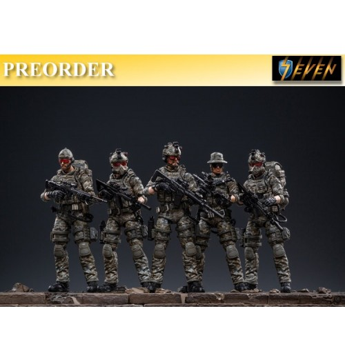 PREORDER: Joy Toy 1/18 USMC Team: Set (5 figures)