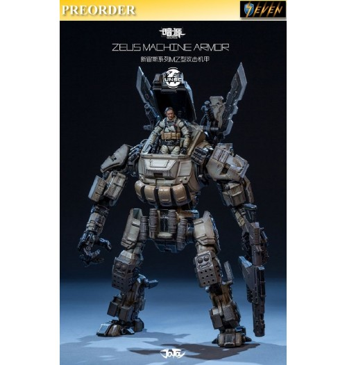 PREORDER: Joy Toy 1/24 ZEUS Machine Armor (GII) with soldier