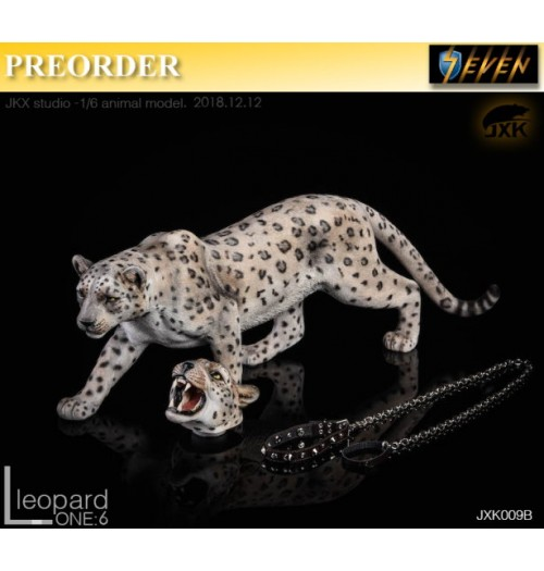 PREORDER: JxK Studio 1/6 The leopard B White: Set