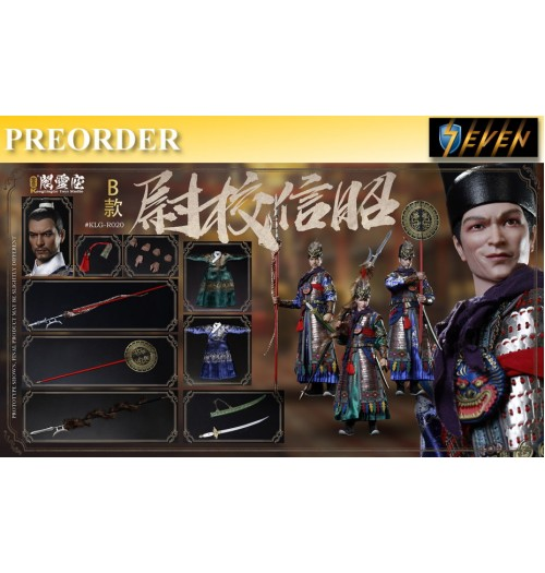 PREORDER: Kongling Pavilion: 1/6 Captain Zhao Xin in Ming Dynasty: Boxset B