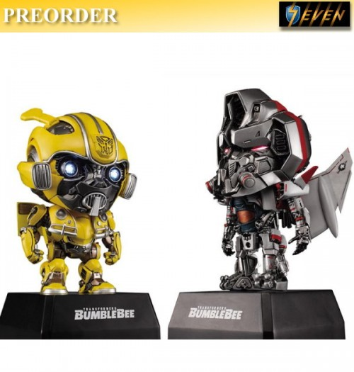 PREORDER: Killerbody: Baby Figurines Bumblebee Vs Blitzwing w/ 1 Speaker: Set
