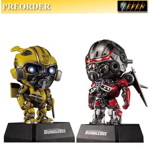 PREORDER: Killerbody: Bumblebee (Sword) Vs Shatter (War Version)  w/ 1 Speaker: Set