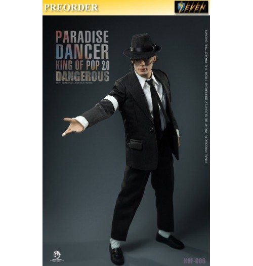 PREORDER: King of Figures 1/6 KOF006 Paradise Dancer 2.0: Boxset
