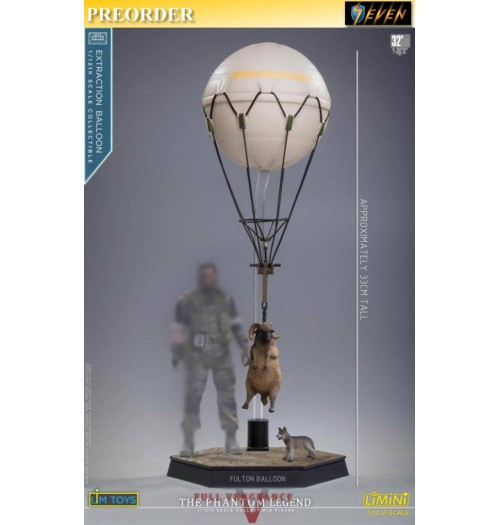 PREORDER: LimToys 1/12 Extraction Ballon with Sheep and Dog: Figure Set