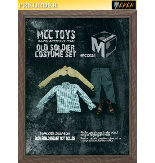 PREORDER: MCC Toys 1/6 Old soldier costume: Set