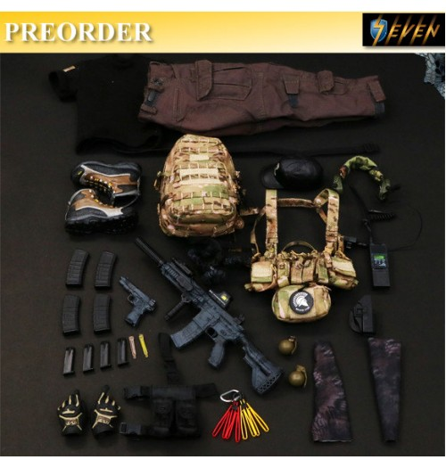 PREORDER: MCC Toys 1/6 PMC Accessories Set - Version A (no head, body & dog)