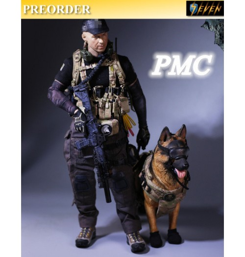 PREORDER: MCC Toys 1/6 PMC Accessories Set with K9 Dog- Version B (no head & body)