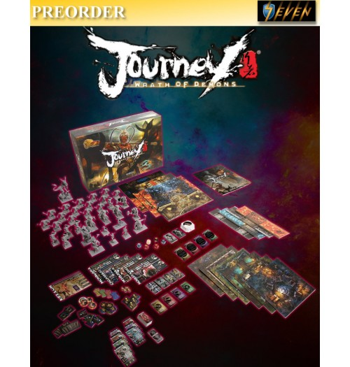 PREORDER: Marrow Production: Journey - Wrath of Demons [Board Game]