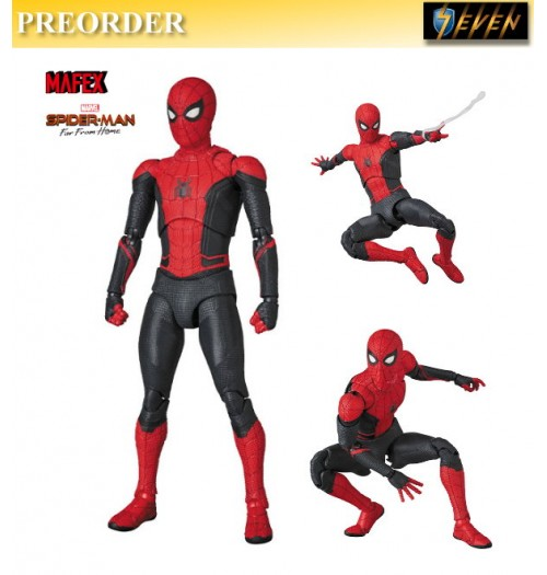 PREORDER: Medicom 15cm Mafex Spider-man Far from Home upgraded suit Figure: Boxset