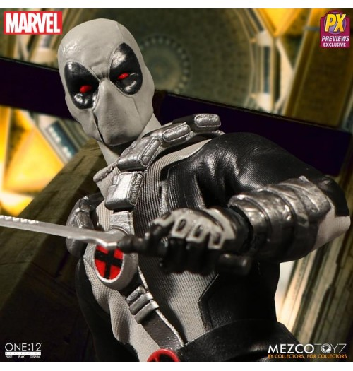 Mezco Toyz 1/12 X-Force Deadpool (Previews Exclusive)