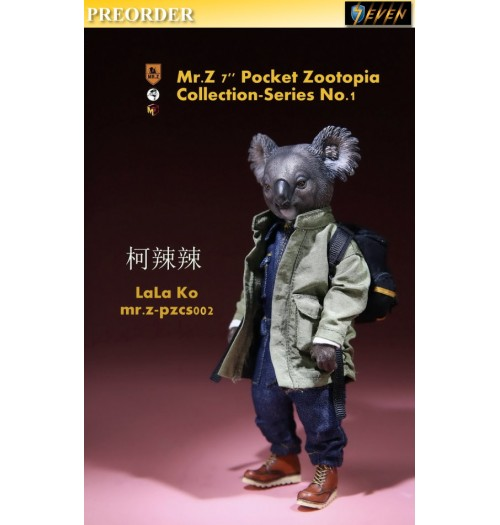 "PREORDER: Mr.Z 7"" Pocket Zoo Collection S1 LaLa Ko: Boxset"
