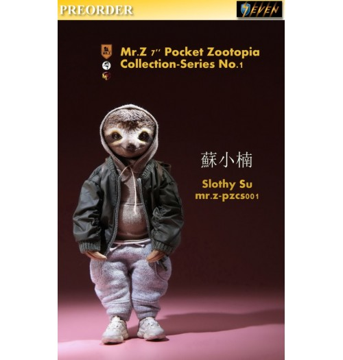 "PREORDER: Mr.Z 7"" Pocket Zoo Collection S1 Slothy Su: Boxset"