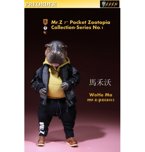 "PREORDER: Mr.Z 7"" Pocket Zoo Collection S1 WoHe Ma: Boxset"