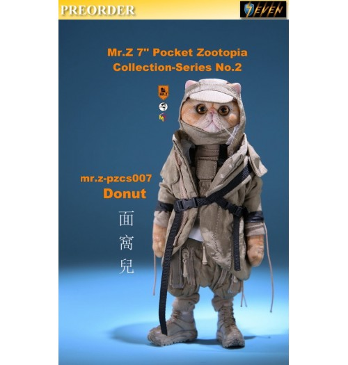 "PREORDER: Mr.Z 7"" Pocket Zoo Collection S2 Donut (17.8cm): Boxset"