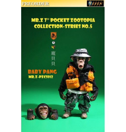 "PREORDER: Mr.Z 7"" Pocket Zoo Collection S5 Baby Pang: Boxset"