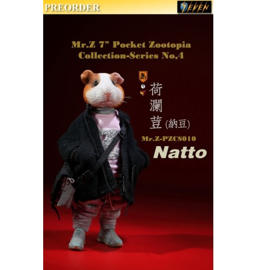 "PREORDER: Mr.Z 7"" Pocket Zoo Collection S4: Natto: Boxset"