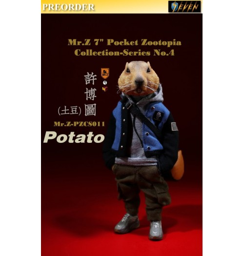 "PREORDER: Mr.Z 7"" Pocket Zoo Collection S4: Potato: Boxset"